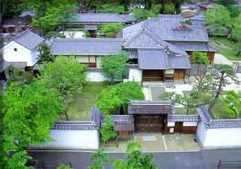 名張藤堂家邸跡