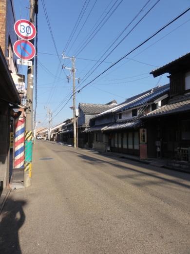 伊賀街道(農人町)