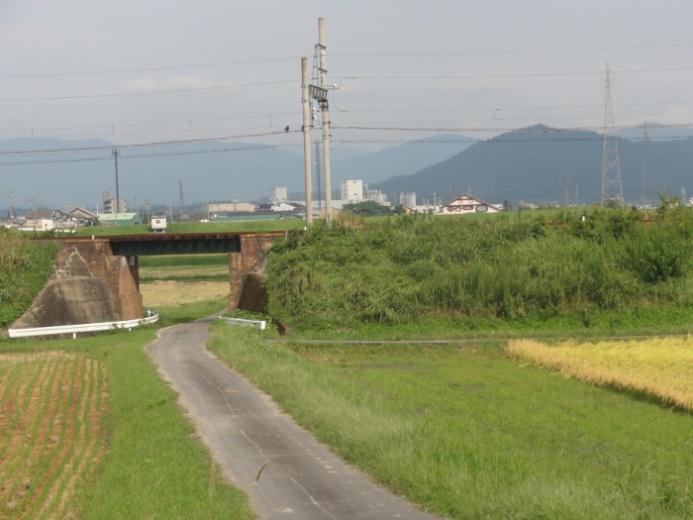 伊賀鉄道の鉄橋