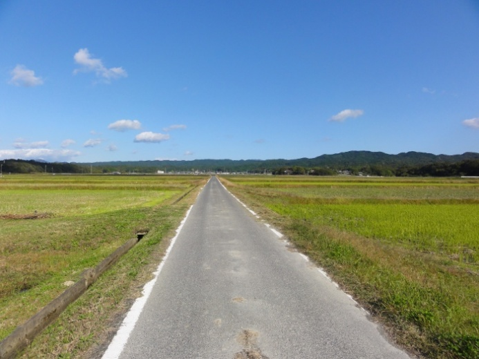 田園風景(比自岐地区)