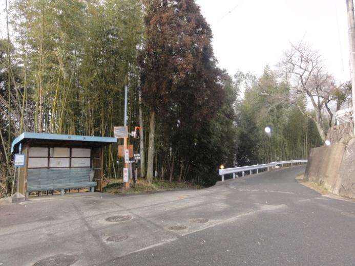 中矢(なかや)バス停